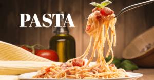パスタでダイエット?